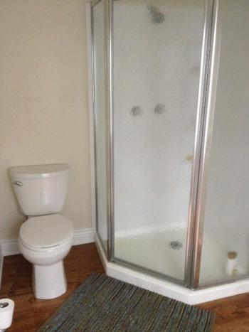 Shower Stall in Separate Cottage